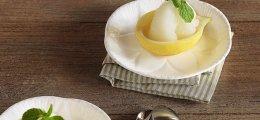 Sorbete de limón y menta