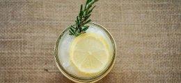 Sorbete de limón sin alcohol